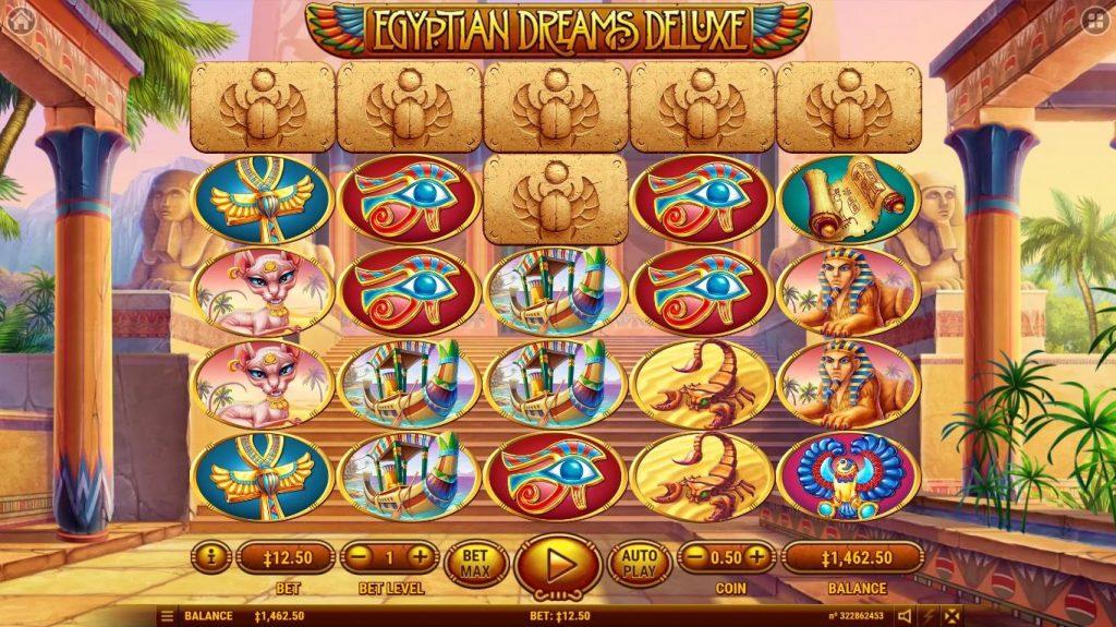 Egyptian Dreams Deluxe สล็อตออนไลน์